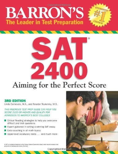 SAT 2400: Aiming for the Perfect Score (3rd 2010)