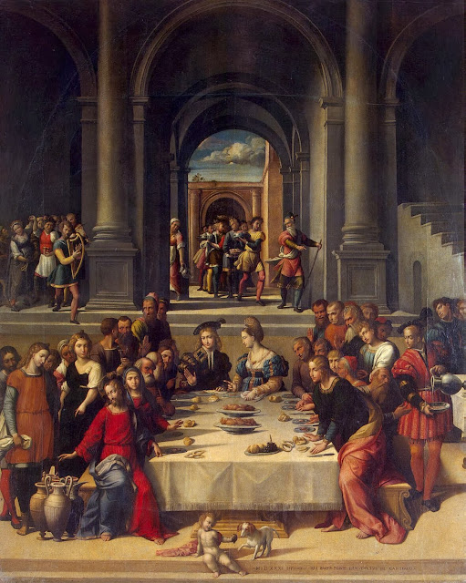 Garofalo - Marriage at Cana