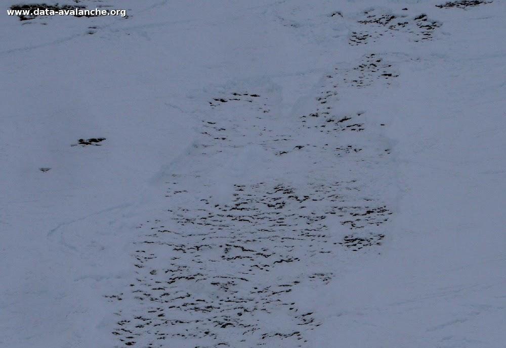 Avalanche Vanoise, secteur Dent Parrachée - Photo 1