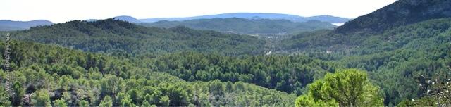 Vistas desde lo alto de Es Capdella