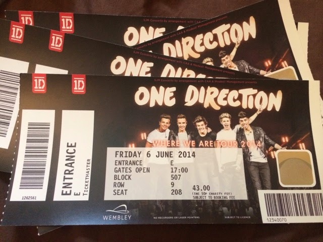 One direction where we are tickets 2014