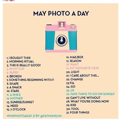 Instagram Photo A Day May Challenge