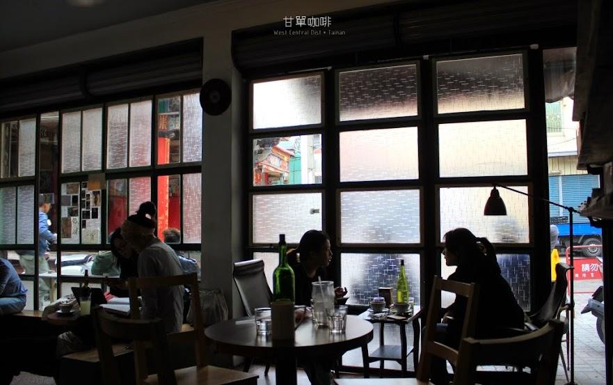 台南中西區咖啡館,甘單咖啡-1