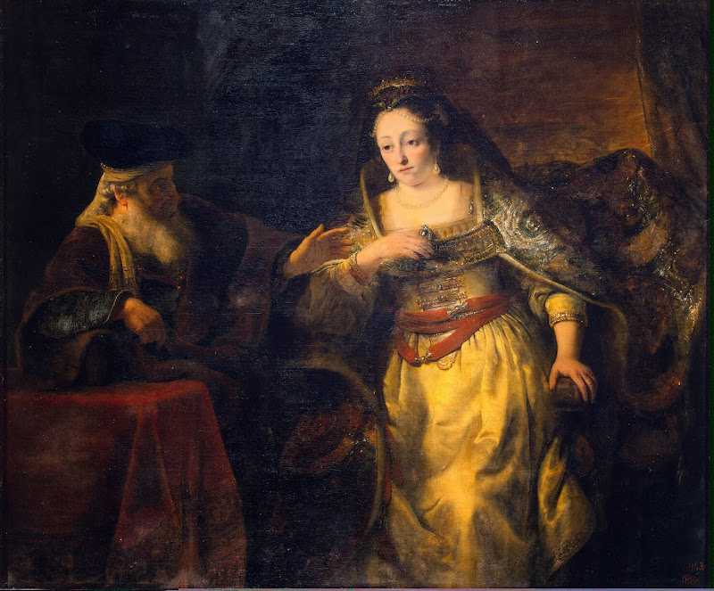Ferdinand Bol - Esther and Mardochai