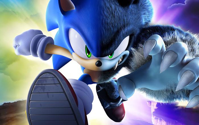 Vài hình nền đẹp về chú nhím xanh Sonic