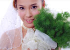 عکس: آرایش دختر مسلمان بلغاری برای عروسی