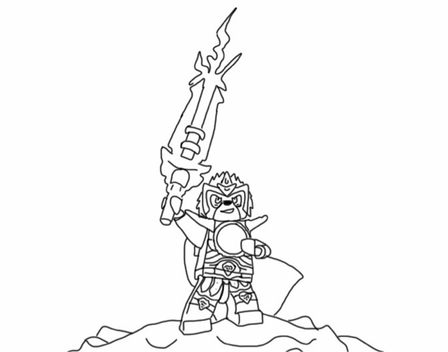 Lego Chima Coloring Pages | Fantasy Coloring Pages