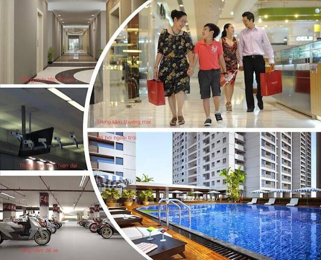 Tiện ích cao cấp hiện đại tại dự án chung cư nhà xã hội Ecohome 3 Bắc Cổ Nhuế