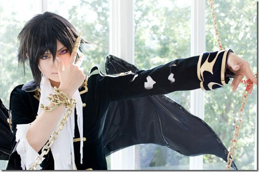 code geass: lelouch of the rebellion cosplay - lelouch lamperouge 9