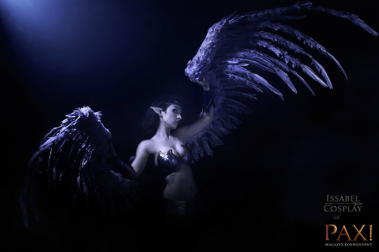 Ngắm thiên thần sa ngã Morgana cực sexy - Ảnh 6