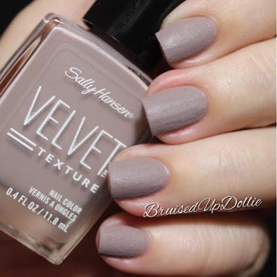 Sally Hansen Velvet Texture Lush Swatch