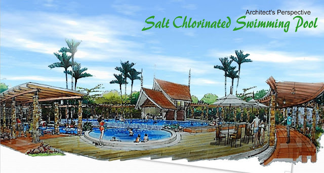Amiya Resort Residences Salt Chlorinated Swimming Pool