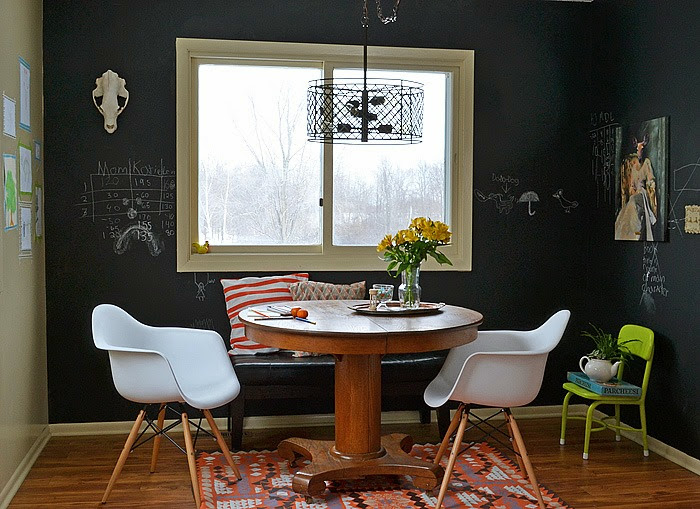 Chalkboard Dining Room Wall
