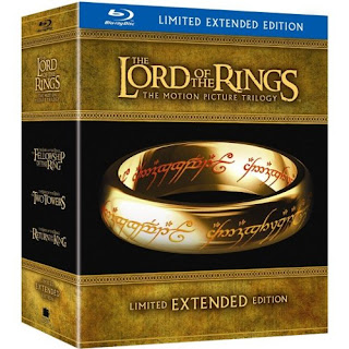 The Lord of the Rings Extended Trilogy Blu-Ray