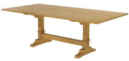 """64"""" x 38"""" Tuscany Conference Table in Medium Quarter Sawn Oak"""