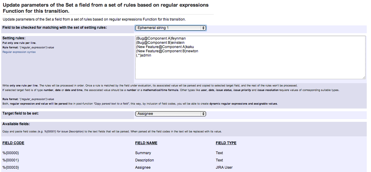 How can I set assignee base on issue type? - Google Groups