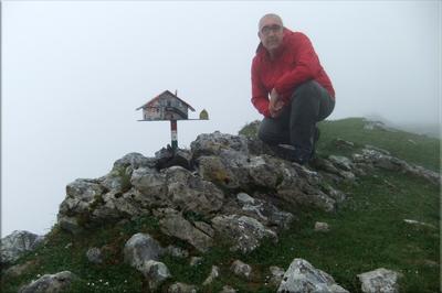 Arralde mendiaren gailurra 945 m. -  2012ko maiatzaren 13an