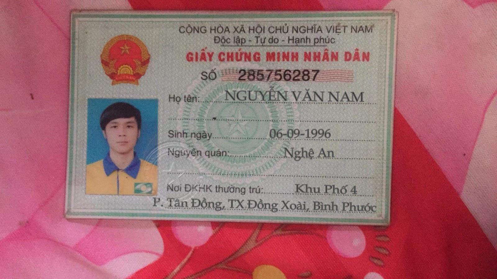 Share PSD CMND Nam Chuẩn Chưa Fix