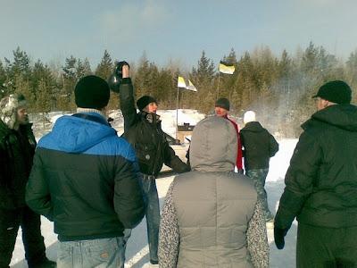 23-го февраля по всей России прошли акции здоровой молодёжи - Братск