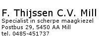 F. Thijssen C.V. Mill