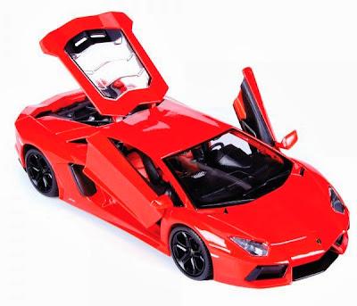 Chi tiết xe mô hình Lamborghini aventador LP700-4