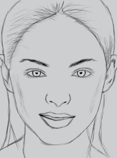 Digital Paint งานทดลองใช้ USB Graphic Tablet (เม้าส์ปากกา) Sketch
