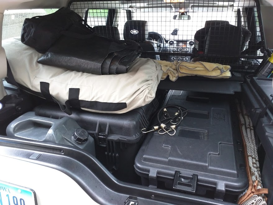 Lr4 Roof Rack Flooring And Eo2 Case Mount Project