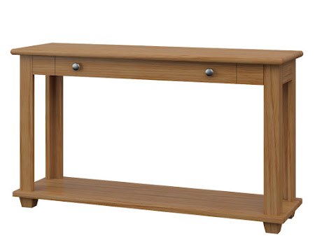 Monrovia Sofa Table in Manor Hickory