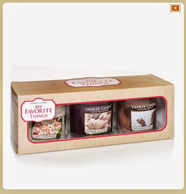 my favorite things yankee candle