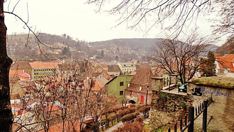panorama sighisoara din cetate