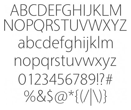 25+ Ultimate Collection of High Quality Free Fonts For Designers- Vegur