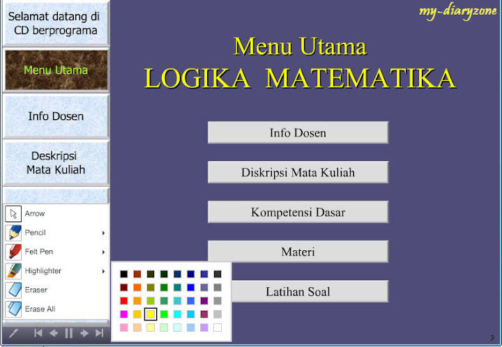 Screenshot Logika Matematika | Educational