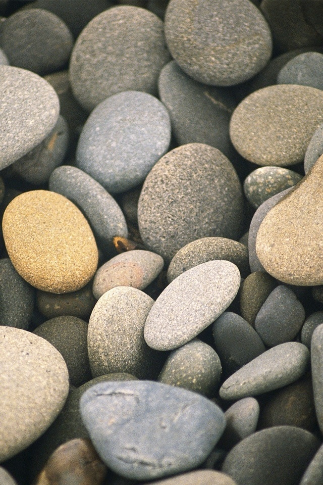iPhone4 Wallpapers HD Pebbles