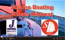 J/88 sailing with Rich Stearns- Chicago