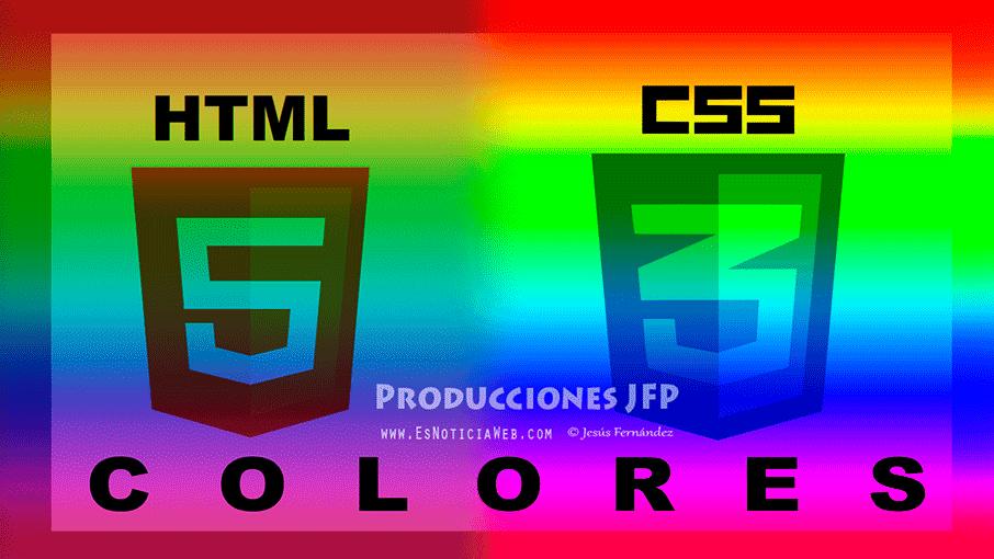 Colores en CSS3 y sus nombres
