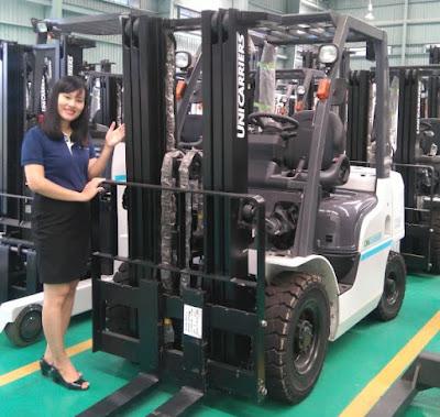 Xe nâng Nissan Unicarriers 2.5 - 3.5 tấn