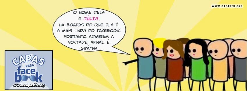 Capas para Facebook Júlia
