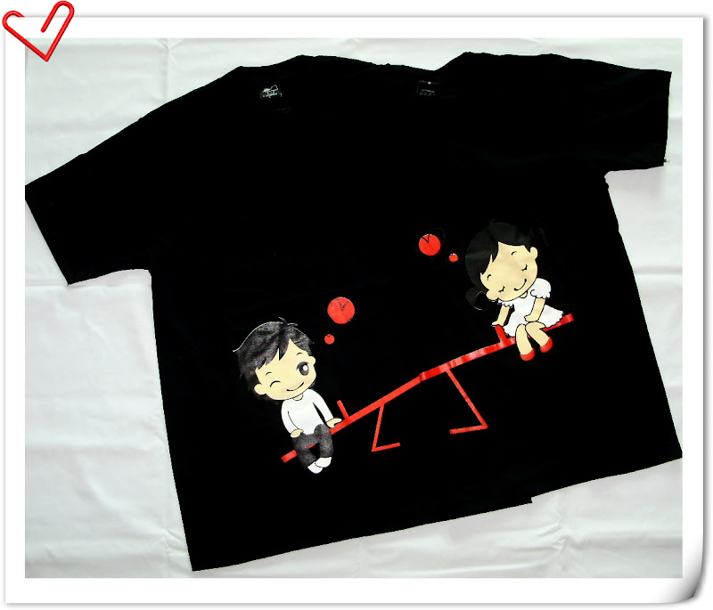 ForUnIGather Malaysia Online Gift Shop: Couple Tee Shirt
