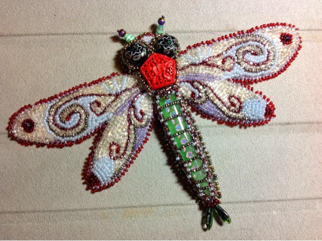 there s a in my room my beaded dragonfly