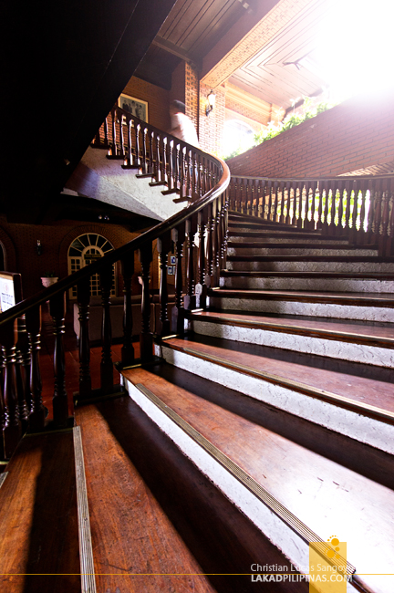 The Famed Spiral Staircase at Laoag's Fort Ilocandia