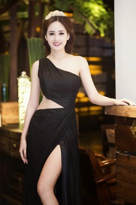 Hoa hậu Mai Phương Thuý kiêu sa tựa nữ thần