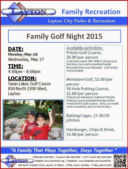 Layton Family Golf Night
