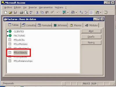 Comprobar cadena de conexión DSN ODBC de las tablas vinculadas en Access