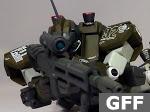 Earth Federation Forces (EFF) RGM-79SC GM Sniper Custom
