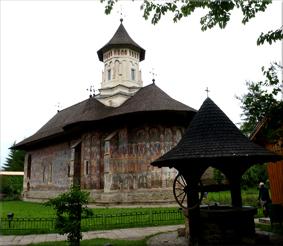 Iglesia de la Anunciación en el Monasterio de Moldoviţa