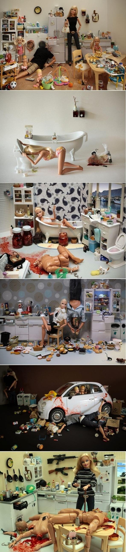 Barbie's Violent Life