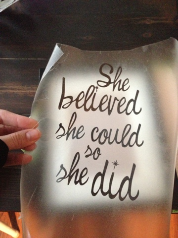 Create Cook Teach She Believed She Could So She Did