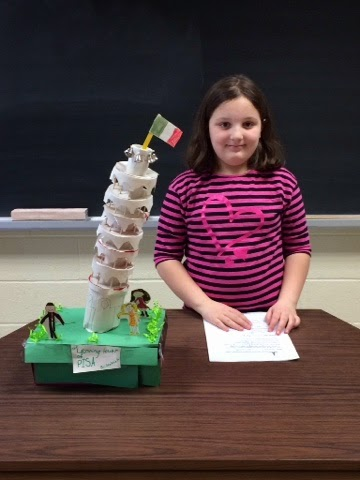 leaning tower of pisa project