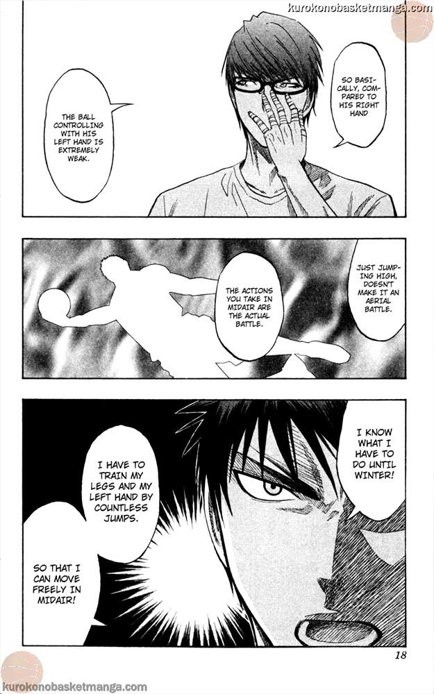 Kuroko no Basket Manga Chapter 62 - Image 16