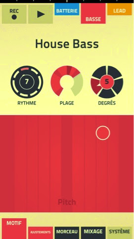 figure application de musique creativite creative app